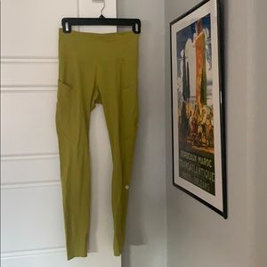 Lime Lululemon Leggings